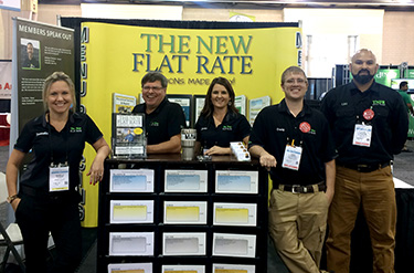 Promoting the New Flat Rate Pricing system during Comfortech 2016 in Philadelphia, PA
