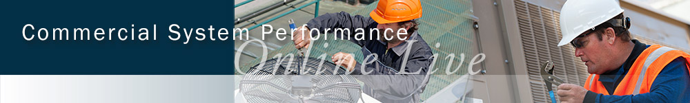 Commercial System Performance Online Live